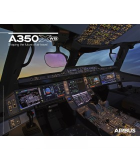 AIRBUS A350 XWB Poster Cockpit View