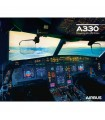AIRBUS Poster A330neo Cockpit View