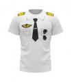Air France Tee Shirt pilote pour enfant 8 ans