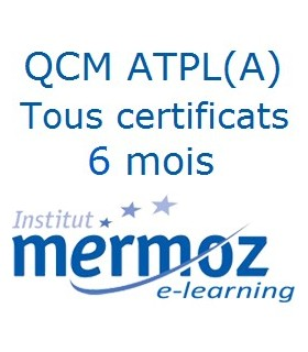 6 mois - Tous les certificats ATPL(A)