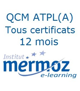12 mois - Tous les certificats ATPL(A)