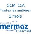 1 mois - Toutes les matières CCA