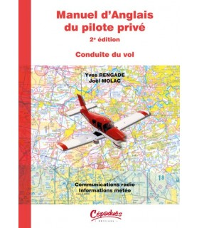 Manuel d'anglais du Pilote Privé (2 Tomes) - version CD