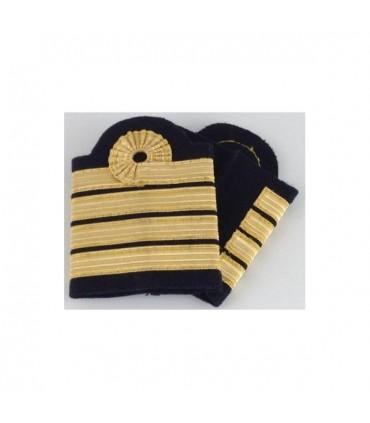 """""""Captain Nelson """" pilot stripes"""