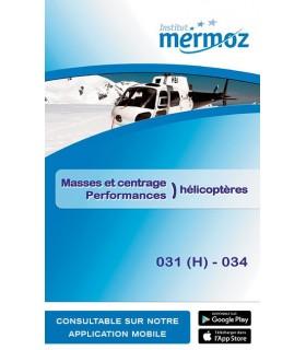 031(H)/034 - Masses et centrage Perfo. hélico.